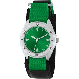 Unisex Canvas Band Double Ring Watch Branded with Your Logo