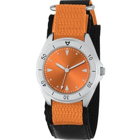 Unisex Canvas Band Double Ring Watch for your School