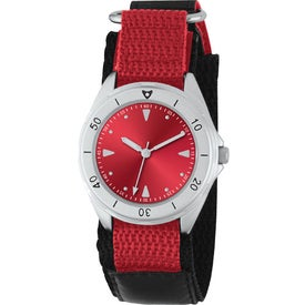 Unisex Canvas Band Double Ring Watch for Your Church