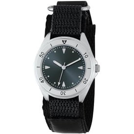 Unisex Canvas Band Double Ring Watch for Your Company