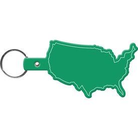 Logo United States Keytag
