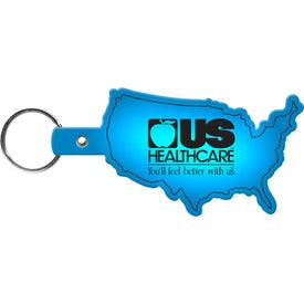 United States Keytag Branded with Your Logo