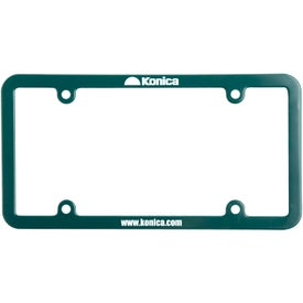 Universal License Plate Frame Branded with Your Logo