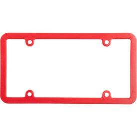 Universal License Plate Frame with Your Logo