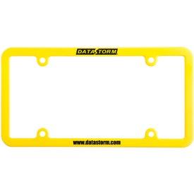 Monogrammed Universal License Plate Frame