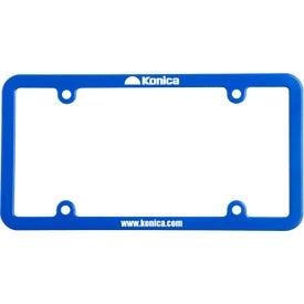 Logo Universal License Plate Frame