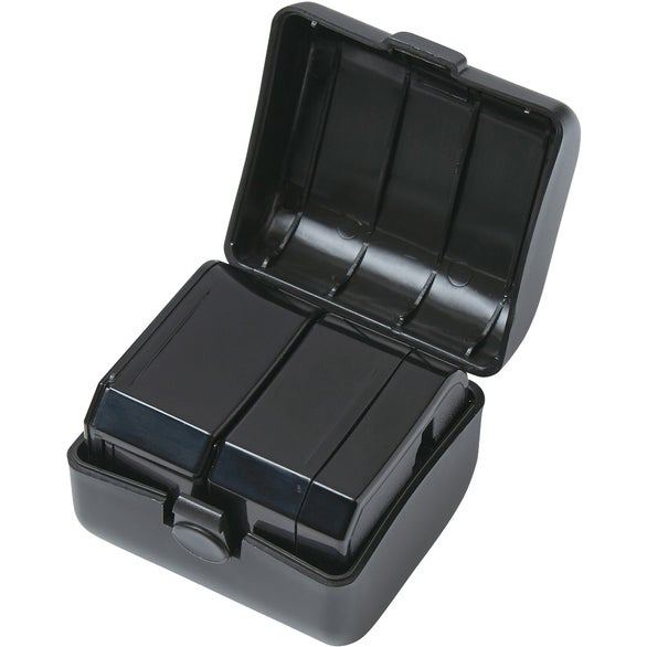 Black Universal Travel Adapter Case