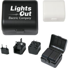 Universal Travel Adapter Case