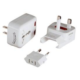 Custom Universal Travel Adapter with USB Port