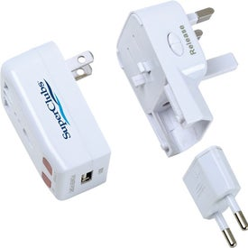 Personalized Universal Travel Adaptor