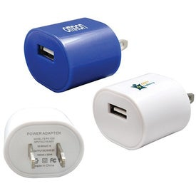 Imprinted Universal USB Charger
