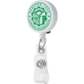 Monogrammed Unlimited Badge Holder