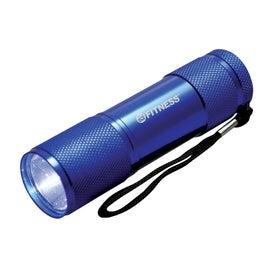 Promotional Uno LED Aluminum Flashlight