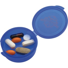 Imprinted Uno Pill Box