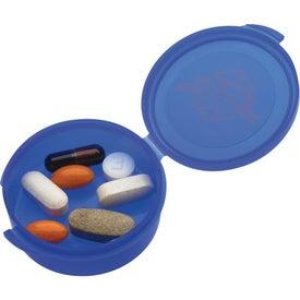 Imprinted Uno Pill Box
