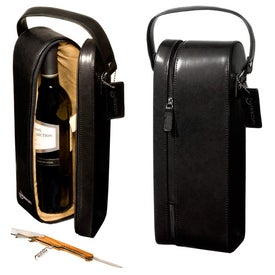 Monogrammed Upper West Side Wine Case Traveler-Single