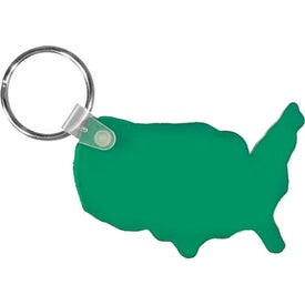 Custom USA Key Fob
