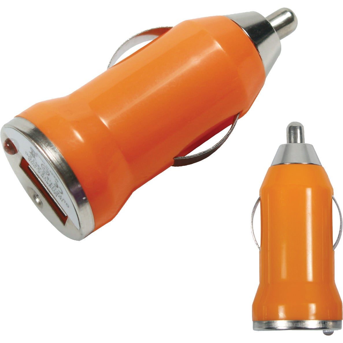 Colored usb car charger - The Bullet Usb Car Charger Features