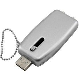 Branded USB Keychain Light