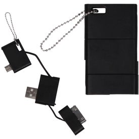 Advertising USB Keychain Phone Charger