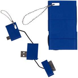 Custom USB Keychain Phone Charger
