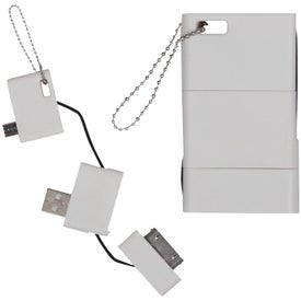 Promotional USB Keychain Phone Charger
