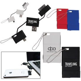 Customized USB Keychain Phone Charger