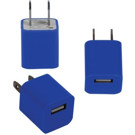 Monogrammed USB to AC Adapter