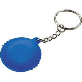 Monogrammed UV Keychain