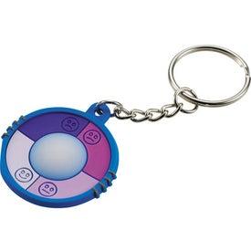 Logo UV Keychain