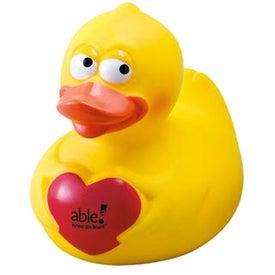 Valentine Rubber Duck