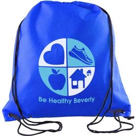 Custom Sophomore Value-Pack Drawstring Backpack