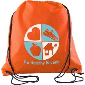 Sophomore Value-Pack Drawstring Backpack for Customization