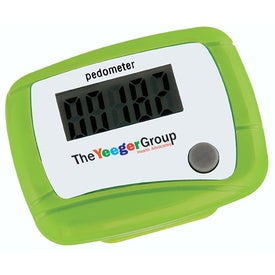 Customized Value Pedometer