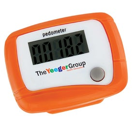 Monogrammed Value Pedometer