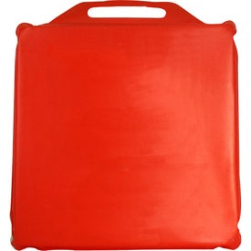 Value Plus Stadium Cushion Branded with Your Logo