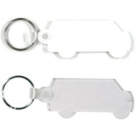Van Key Fob Imprinted with Your Logo