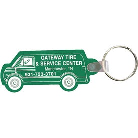 Printed Van Key Fob