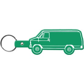 Imprinted Van Key Tag