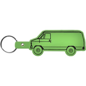 Van Key Tag Branded with Your Logo
