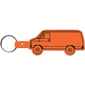 Promotional Van Key Tag
