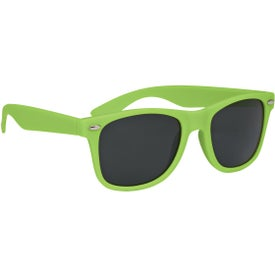 Velvet-Touch Matte Sunglasses for Promotion