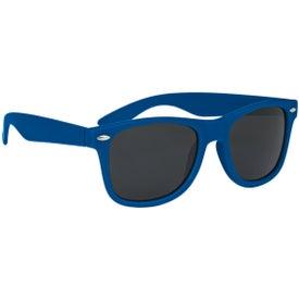 Velvet-Touch Matte Sunglasses for Promotion