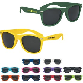 Velvet-Touch Matte Sunglasses with Your Logo
