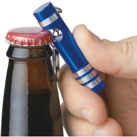 Company Versa Aluminum LED Key Light With Bottle Opener
