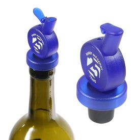Vintage Stock Wine Stopper and Pourer Giveaways
