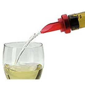 Imprinted Vintners Wine Pourer