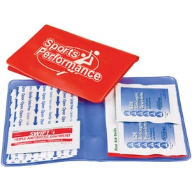 Vinyl First Aid Kit with Your Logo