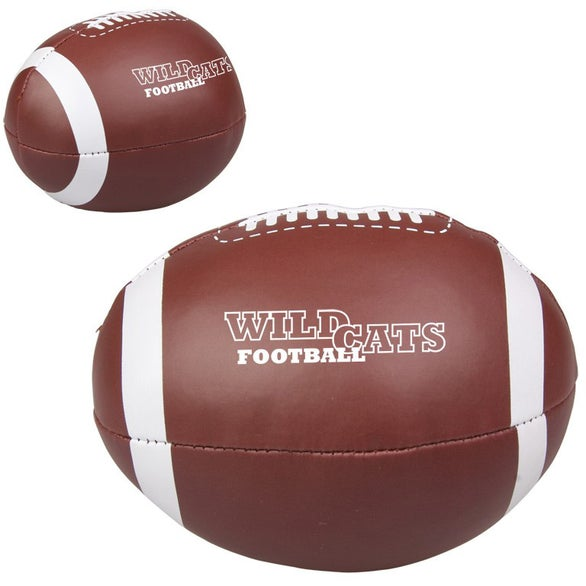 Vinyl Football Pillow Ball