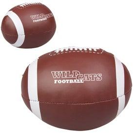 Custom Vinyl Football Pillow Ball